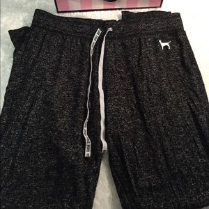 Pink Victoria Secret sleepwear pants medium